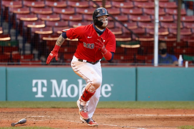 Boston could turn to Alex Verdugo in center if Jackie Bradley Jr. leaves town.