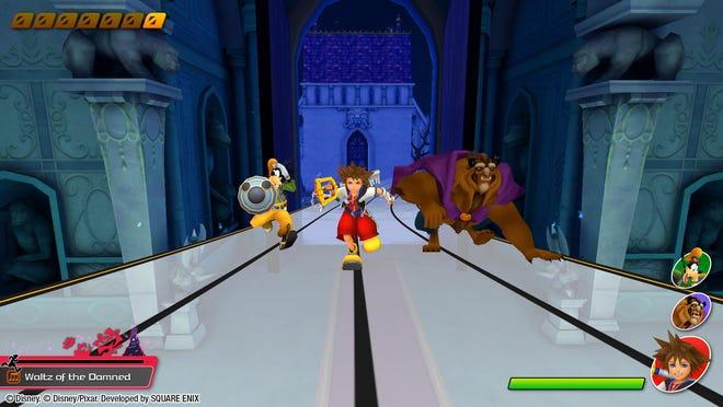 """A screenshot of """"Kingdom Hearts: Melody of Memory."""""""