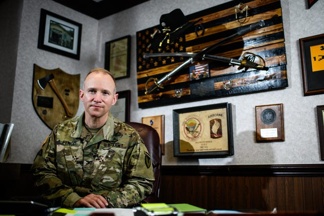 Fort Bragg garrison commander Col. Scott Pence took command in August.