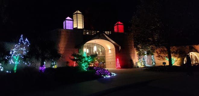 Holiday Lights in the Garden takes place at Cape Fear Botanical Garden multiple days this month.