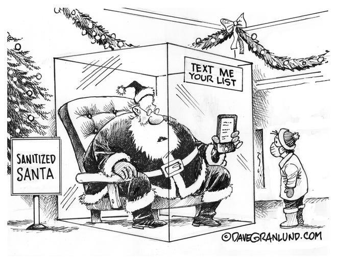 GRANLUND'S VIEW: Sanitized Santa