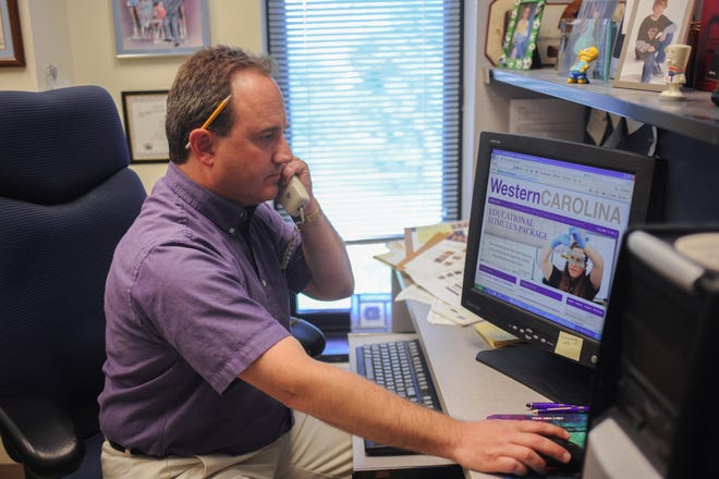 Bill Studenc, Western Carolina University's chief communications officer, is retiring after 32 years with the university.