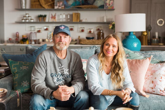 "Ward Schraeder and his daughter, Tamara Day, are the stars of HGTV's ""Bargain Mansions."" Day will be in the Montgomery area this week on a secret project."