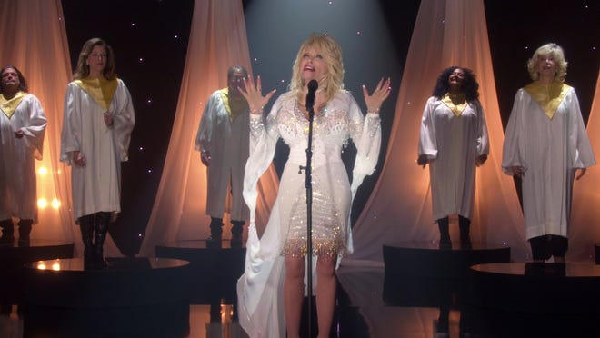 Dolly Parton performs 'I Still Believe' on the CBS TV special 'A Holly Dolly Christmas.'