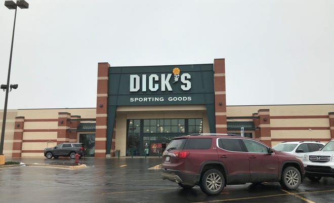 Dick's Sporting Goods at 4715 24th Ave. in Fort Gratiot Township is closing.