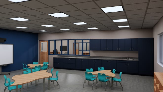 New elementary classrooms will be added with the 40,000 square-foot expansion of Sheboygan Christian School.