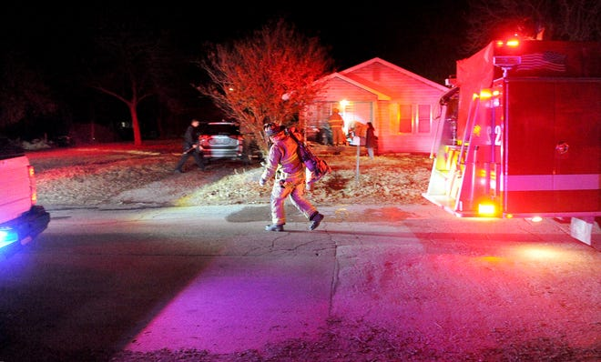 Wichita Falls firefighters responded to a report of a structure fire Monday morning at a house in the 700 block of Sullivan Street.