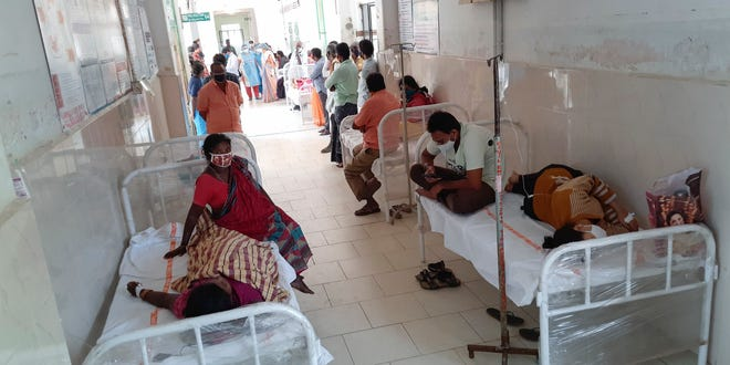 More than 200 people in India have been hospitalized with an unidentified illness in Eluru, Andhra Pradesh state, an ancient city famous for its hand-woven products.