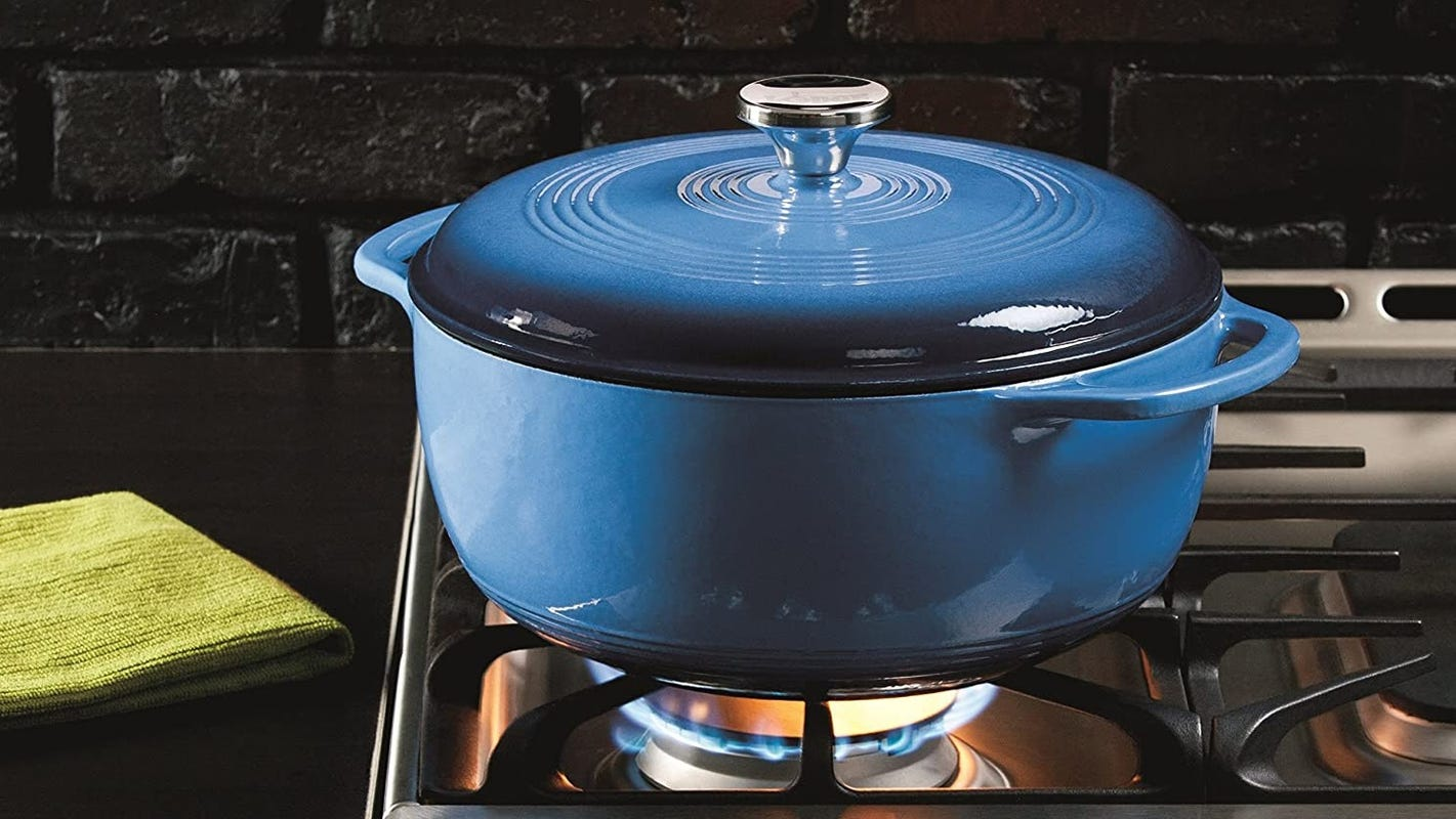 This Lodge Dutch oven outperforms its price point—and it just got a major price cut