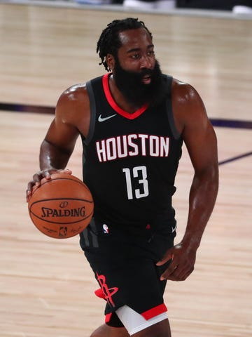 The Houston Rockets don't have a timetable on when James Harden will be at camp.