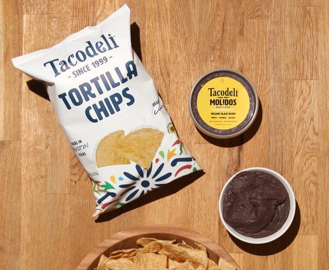 The Austin-based restaurant Tacodeli is now selling its popular black beans at Whole Foods Market. You can also now buy the restaurant's salsas and tortilla chips.