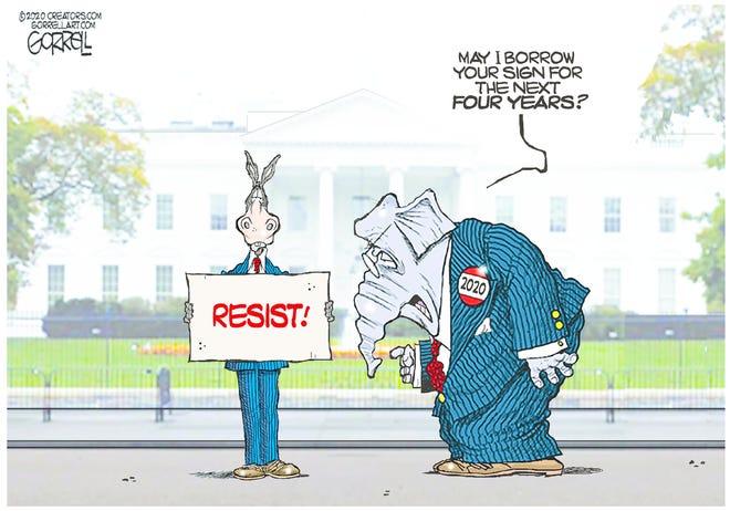 Cartoon by Bob Gorrell