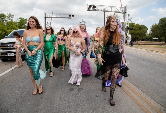 A measure filed in the Texas Legislature seeks to designate San Marcos as the Mermaid Capital of Texas. The city hosts an annual SPLASH (Stewardship, ­Preservation, ­Local, ­Arts, ­Sustainability, ­Heritage) parade that features mermaids.