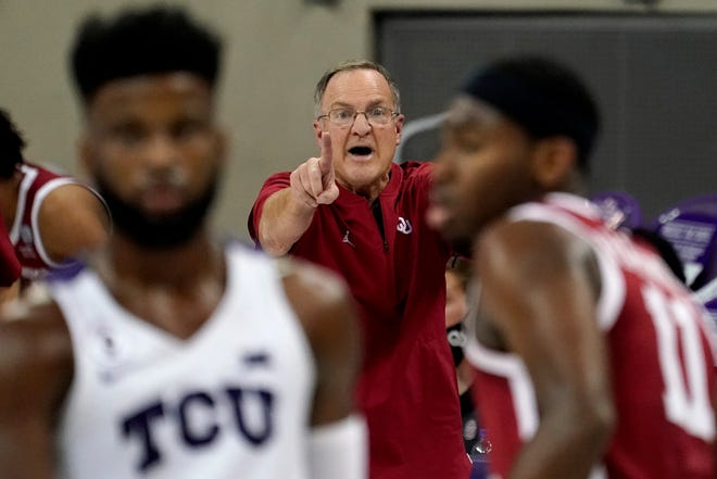 Lon Kruger knows he is taking a chance. Oklahoma's 68-year-old coach has been spared so far, even with his Sooners having to briefly shut down because of cases within the program.