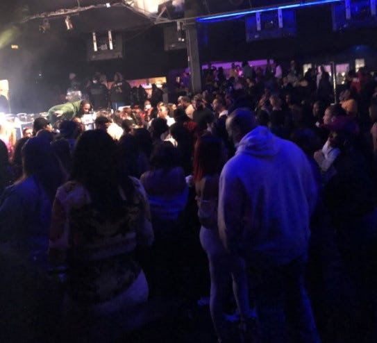 "Undercover agents with the Ohio Investigative Unit say about 500 people attended a concert Saturday night at the Aftermath nightclub venue on the Far East Side. The agents said there were ""egregious violations"" of public health orders intended to stop the spread of COVID-19."