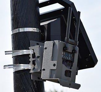 Columbus police plan to mount license plate recognition cameras similar to this in high shooting areas in Linden and the Hilltop to record license plates of vehicles near shootings.  The cameras will be linked to, and activated by, the ShotSpotter system the city already leases.