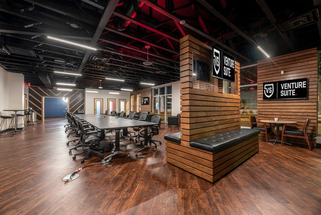 The interior of the new Venture Suite location.