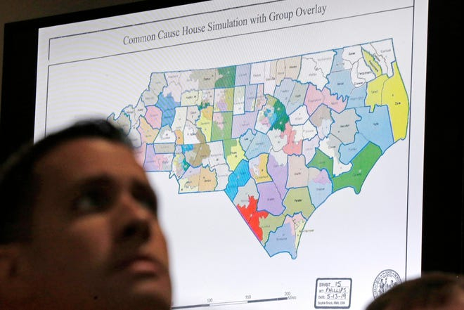 Drawing congressional district boundaries can be complicated.