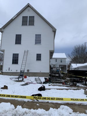A man was airlifted to Maine Medical Center in Portland Monday afternoon after suffering head and other injuries during a commercial worksite fall at 29 Pickering Road in the Gonic area of Rochester.