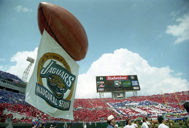 The Jaguars began play as an NFL expansion team in 1995.