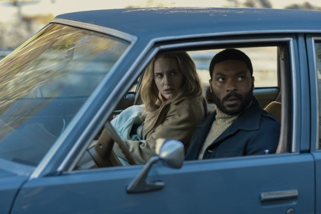 """Rachel Brosnahan and Arinze Kene star in the crime drama """"I'm Your Woman,""""  now at Sun-Ray Cinema."""