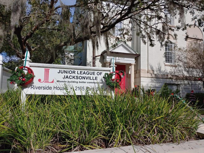 The Junior League of Jacksonville hosts its Holiday Home Tour on Saturday, Dec. 12.  Due to COVID-19 precautions, the second annual event features only decorated porches and lawns of homes and businesses in Riverside and Avondale, including the group's headquarters at 2165 Park St.