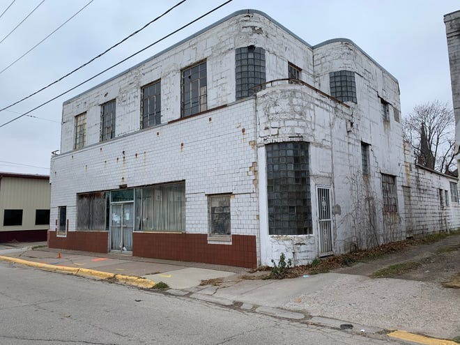 The Maple City Dairy building at 110 S. A St. dating to the 1930s will be demolished by the city using funds from a local foundation.