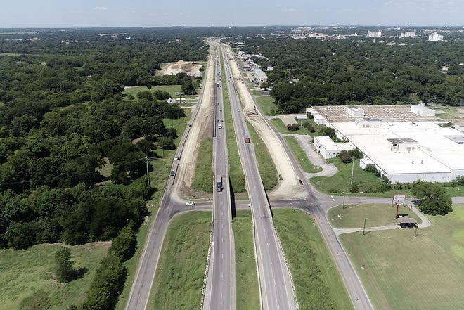 Officials with the Texas Department of Transportation hope to have work completed on U.S. Highway 75 completed by late 2021.