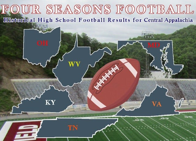 Both Keyser and Frankfort football teams have earned mention in several Top 10 lists on the Four Seasons website.