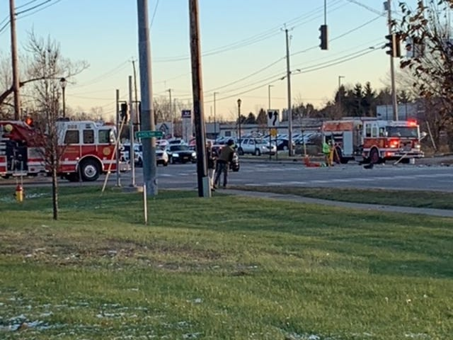 Ontario County sheriff's deputies are investigating a fatal crash on Route 332 at Airport Road.