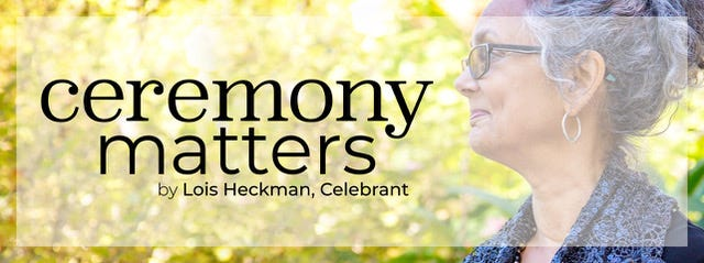 Pocono Wedding Talk is now Ceremony Matters by Lois Heckman