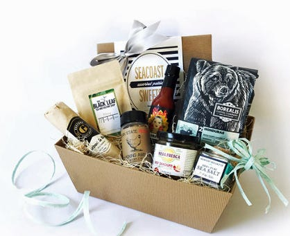 Stock Culinary Goods in Providence puts together RI gift baskets.