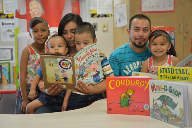 Read to Me, Stockton! provides free age-appropriate books monthly to children from birth to age five in Stockton's most challenged neighborhoods.