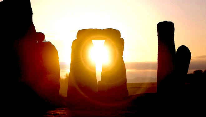 "A still from ""The Builders of Stonehenge,"" Tournez S'il Vous Plait (France)."