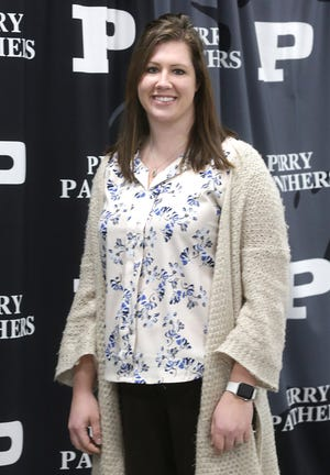 Ashley Kline, intervention specialist for Perry Local Schools, is a Walsh University Teacher of the Month for December.