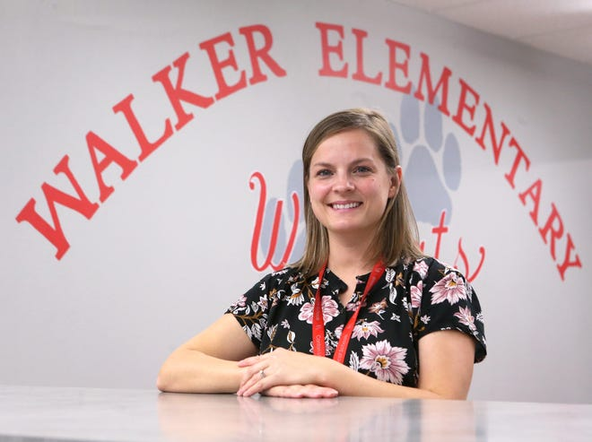 Megan McClaskey, a first-grade teacher at Walker Elementary School in Canton Local School District, is a Walsh University Teacher of the Month for December.