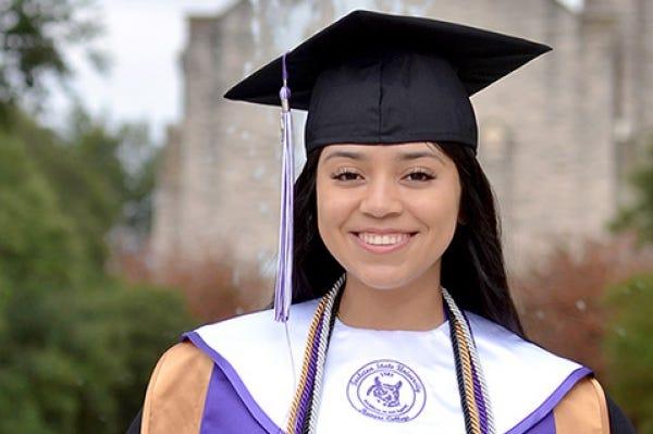 Tarleton graduate Josephina Valdez is the featured speaker at 10 a.m. commencement exercises Friday, Dec. 11.