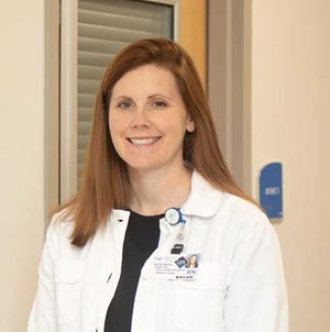 Katie Buck is a registered nurse working in the Emergency Department at CarolinaEast Health System. [CONTRIBUTED PHOTO]