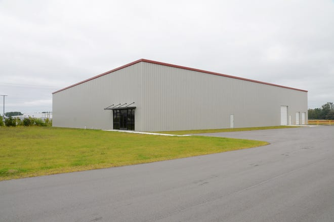 The Craven County Board of Commissioners has approved the sale of six acres of property within the county's Industrial Park to Bayfront Development. The company plans to invest $1 million to construct a 20,000 square foot shell building similar to one developed by the Craven 100 Alliance in 2018 that was eventually purchased by Carolina GSE, Inc. [TODD WETHERINGTON/ SUN JOURNAL STAFF]