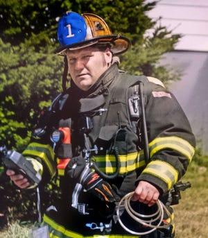Worcester firefighter Jon Davies Sr. who died fighting a blaze at 49 Arlington St  on Dec. 8, 2011.