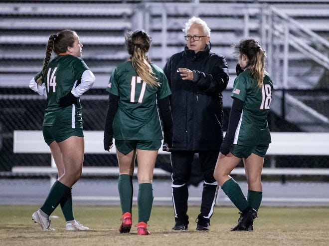 Arnold played Mosley in girls soccer Monday, December 7, 2020.
