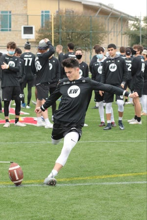 Pueblo County High School's Aaron Krinsky competes at the Kicking World national showcase in Austin, Texas on Dec. 5-6.