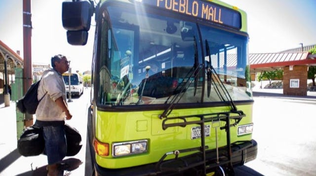Pueblo Transit is moving to a reduced route schedule after staff there was exposed to COVID-19.