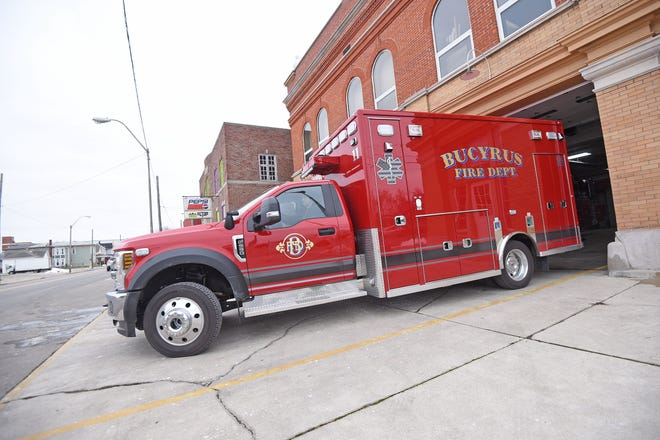Bucyrus Fire Department's newest ambulance arrived in the autumn of 2020.