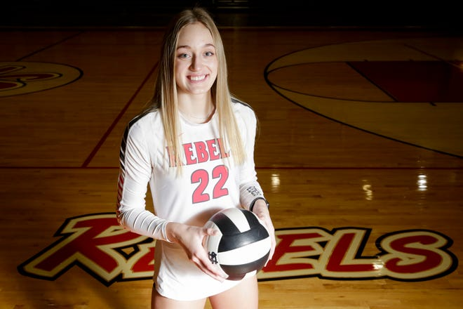 South Newton's Sam Warren is the 2020 Journal & Courier Small School Volleyball Player of the Year.