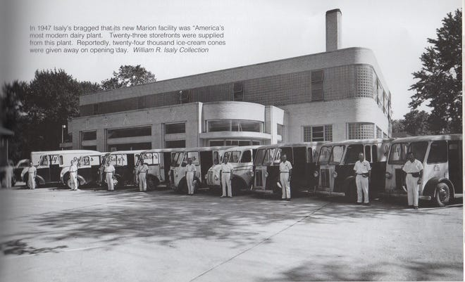 This dairy plant, opened in 1947 on East Center Street in Marion, was touted as one of the world's most modern dairy plants, providing milk across three states.