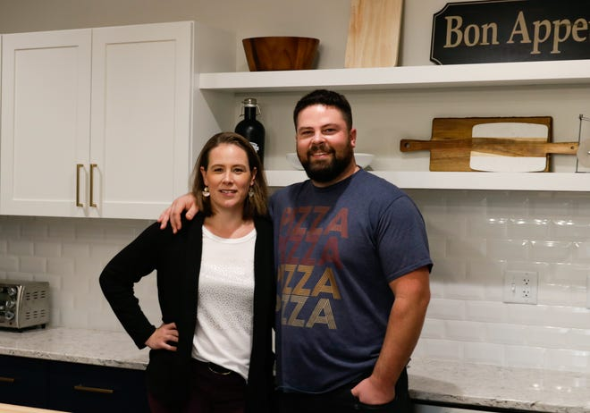 Siblings Anne Cookson and Chris Miller moved their business, Baker's Quality Pizza Crusts, to a new, larger facility at 1814 Dolphin Drive in Waukesha this year. They also started a subsidiary, Crustology Hand-Crafted Pizza Crusts, to sell pizza crusts for home bakers.