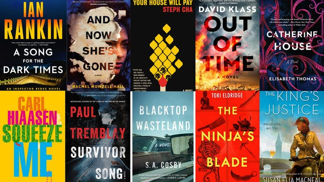 Carole E. Barrowman's favorite mysteries and thrillers of 2020