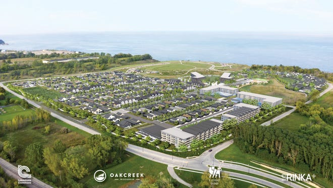 Lakeshore Commons would create hundreds of housing units east of South Fifth Avenue and north of East Ryan Road near Oak Creek's lakefront.