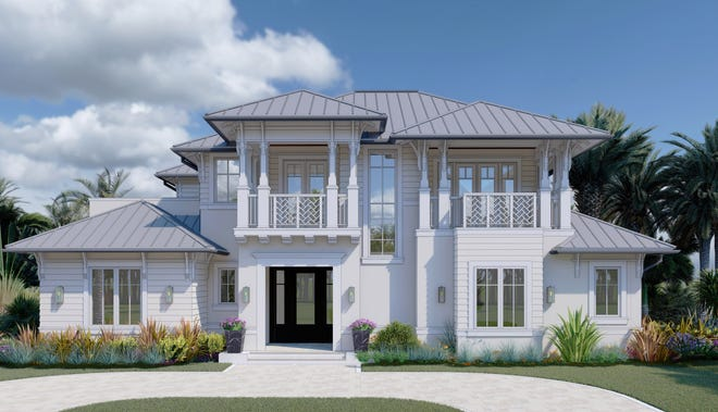 Waterside Builders, Inc. announces the construction of a brand-new luxury model home at 76 3rd Street North in Olde Naples.